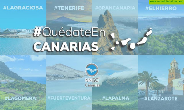 Nuevas Generaciones de Canarias (PP) lanza la campaña #QuédateEnCanarias