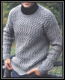 krasivii mujskoi pulover spicami galkindnevnik vyazaniespicami vyazaniedlyamujchin (8)