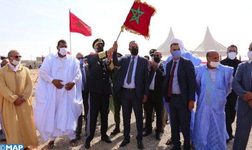 إقليم أوسرد.. تدشين وإعطاء انطلاقة مشاريع تنموية بمناسبة ذكرى المسيرة الخضراء