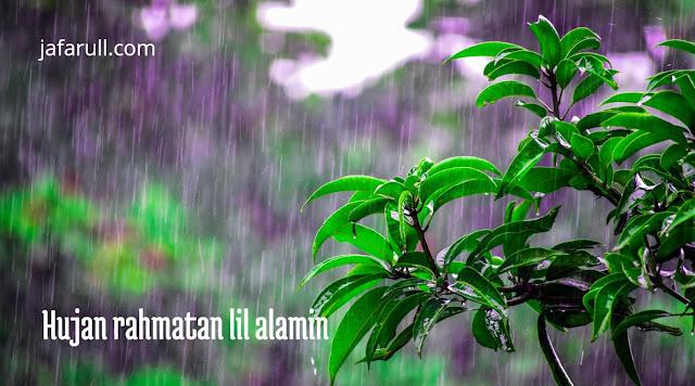 Hujan rahmatan lil alamin