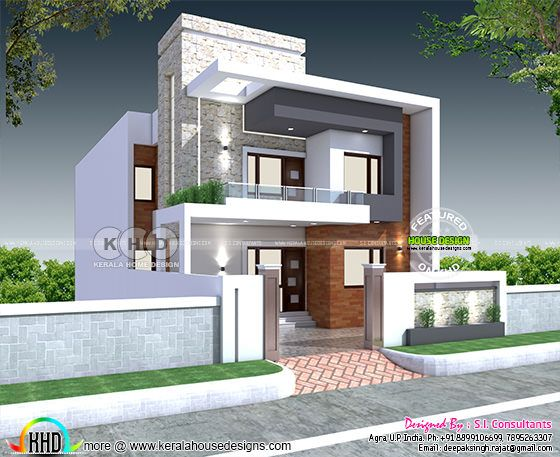 32x60 modern North Indian home plan