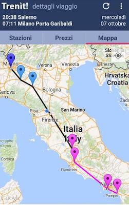 APP IPHONE CHE PERMETTE DI CONOSCERE ORARI DI PARTENZA ED ARRIVO TRENI IN TUTTA ITALIA