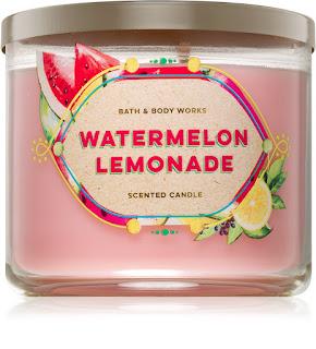 Bath & Body Works Watermelon Lemonade vonná sviečka
