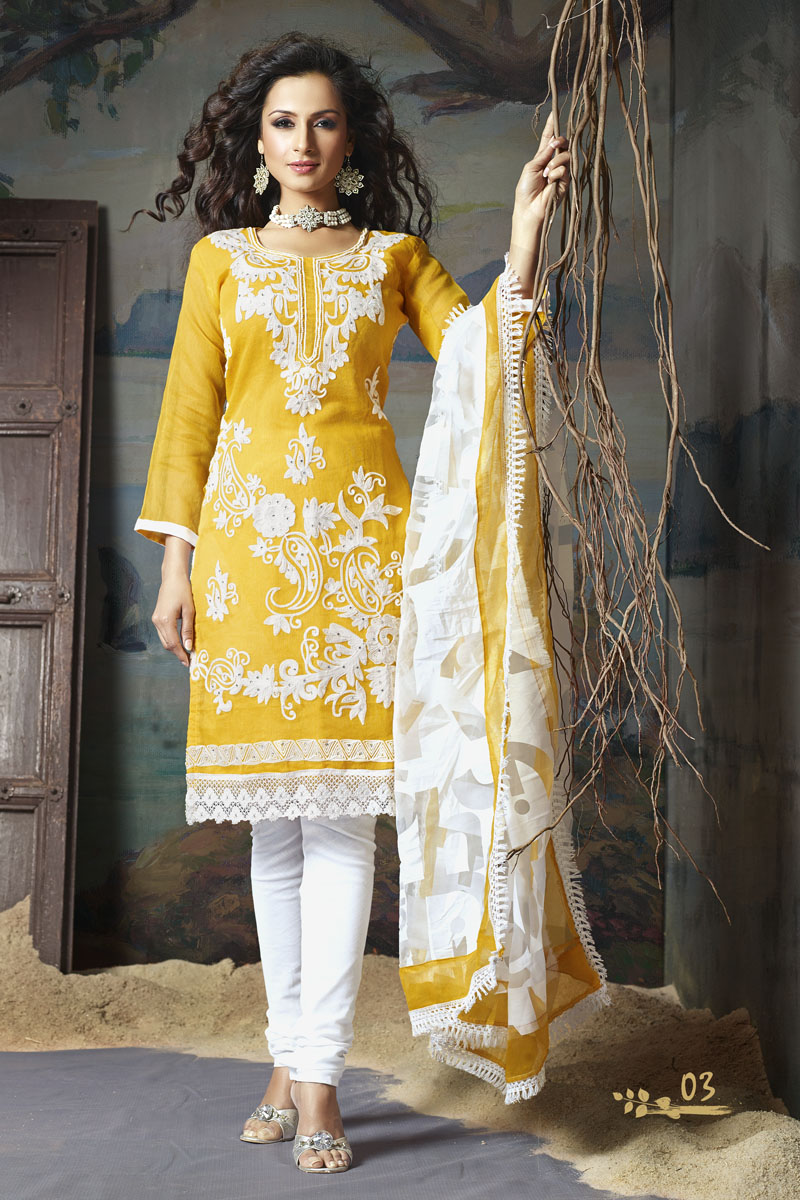 Ladies Embroidered Salwar Kameez - Indian Designer Suits ...