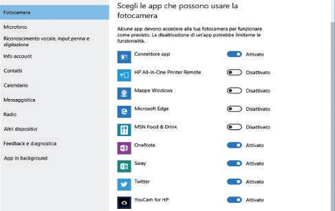 come attivare o disattivare l'accesso alla posizione in Windows 10