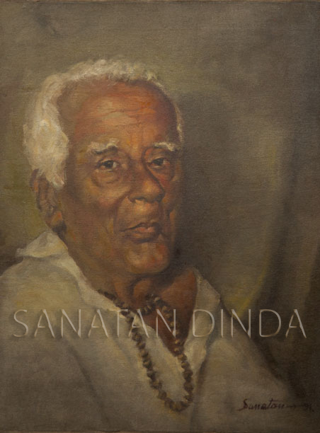 Paintings by Sanathan Dinda 1971