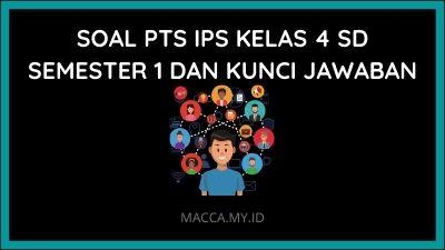 Soal PTS IPS Kelas 4 SD Semester 1 dan Kunci Jawaban
