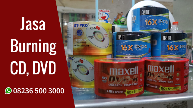 Jasa Burning CD, DVD di Pasuruan Murah dan Terpercaya