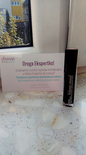 Recenzja tusz do rzęs-Bourjois Volume Reveal