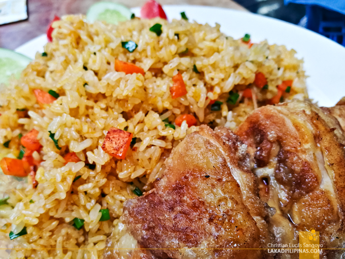 Hanoi Food Trip Fried Rice Chicken