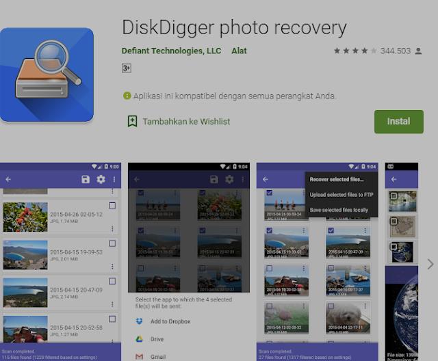 5+ Cara Mengembalikan Foto yang Terhapus di HP Android 3