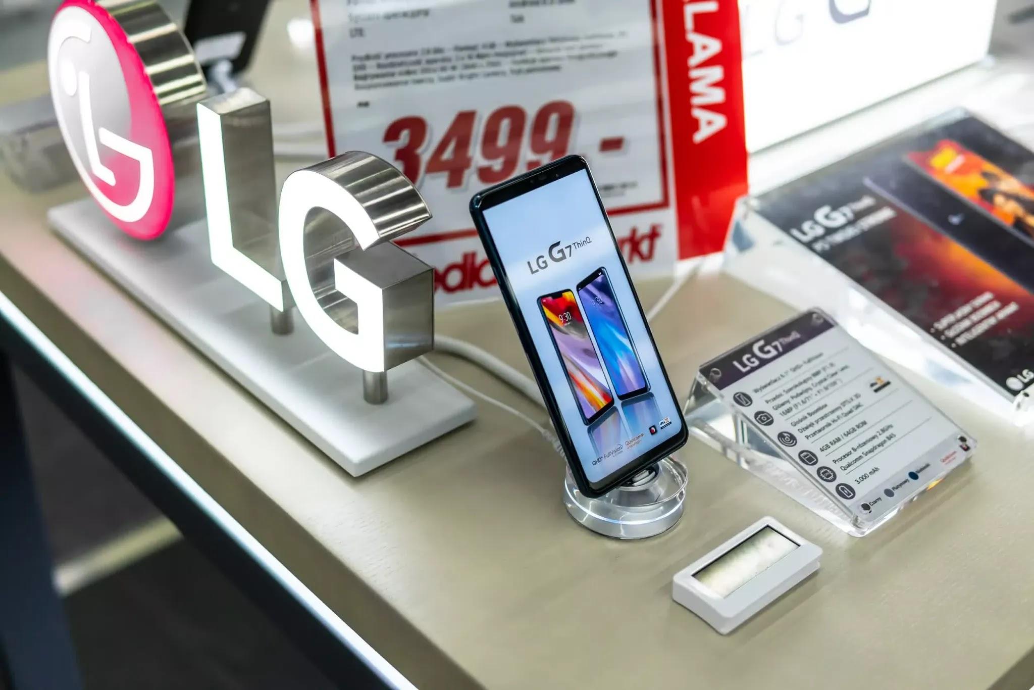 LG tuyên bố rút lui khỏi mảng kinh doanh điện thoại