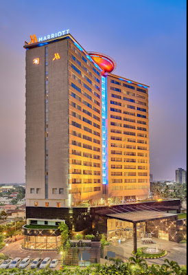 marriot Kochi long view skyscrapper