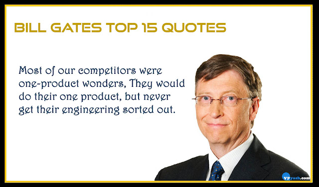 Bill Gates top 15 quotes