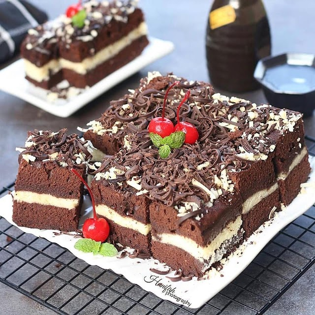 Resep Brownies - Brownies Kukus Coklat Keju