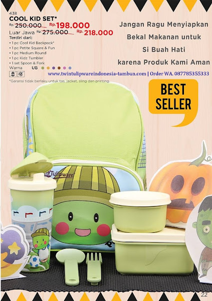 Promo Diskon Oktober 2017, Cool Kid Set