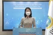 IWPG: Peringatan Tahunan ke-2 Hari Perdamaian Wanita Internasional jatuh Pada 26 April
