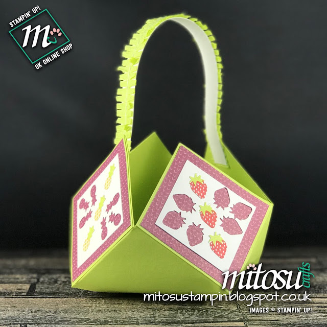 Fruit Basket & Itty Bitty Fruit Punch by Stampin' Up! from Mitosu Crafts