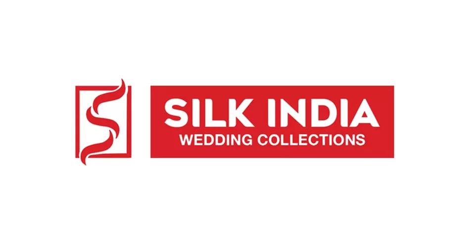 Silk India Wedding Collections, Logo, Emblem,  Kollam