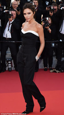 victoria beckham on canes film festival red carpet