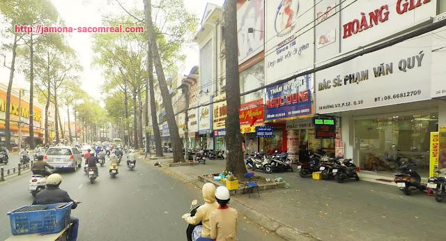 Dự án Hà Đô 756 Sài Gòn tọa lạc tại đường 3 tháng 2 quận 10