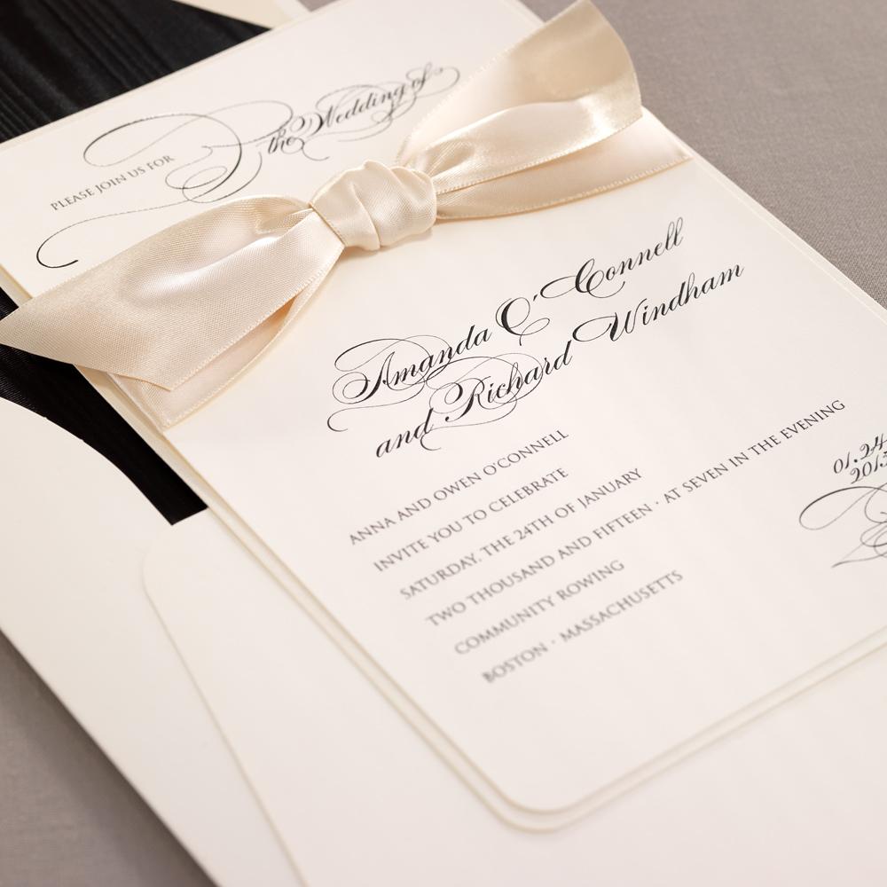 Wedding Invitations Houston tx  Isabella Invitations