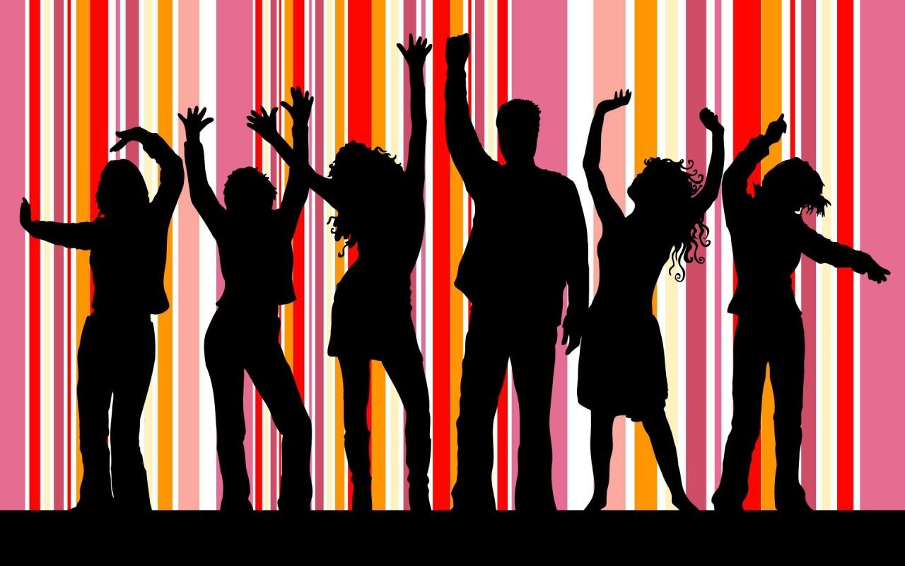 dance party clipart - photo #44