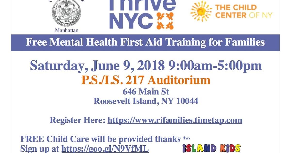 Roosevelt Islander Online Thrive Nyc Roosevelt Island Mental Health