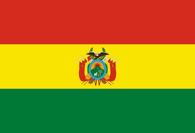 Logo Gambar Bendera Negara Bolivia PNG JPG ukuran 400 px