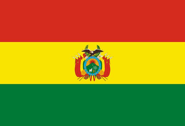 Logo Gambar Bendera Negara Bolivia PNG JPG ukuran 600 px