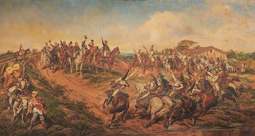 Grito do Ipiranga. Guerra da independência