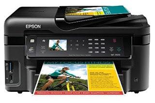 Epson WF-3520DWF Driver Printer