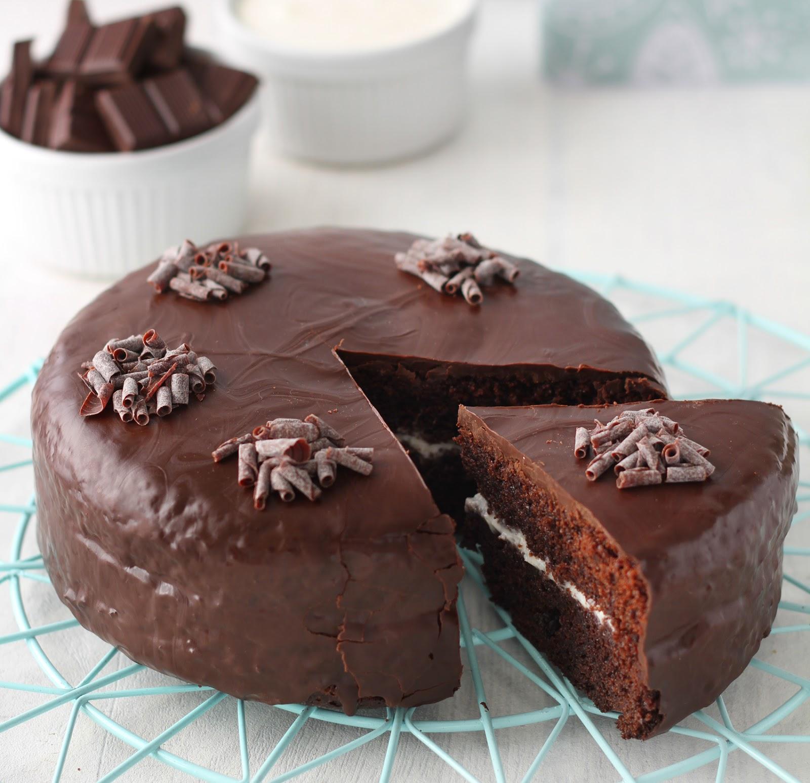 Ricetta Pan Di Spagna Al Cioccolato Al Latte.Torta Delice Al Cioccolato Con Crema Al Latte La Tana Del Coniglio