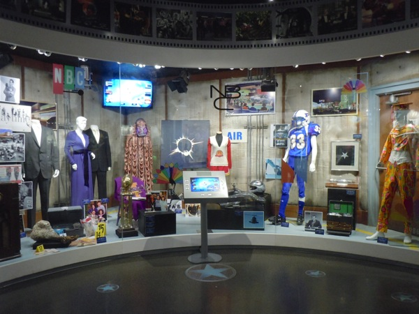NBC Universal costume prop exhibit March 2011