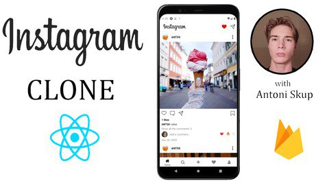 React Native bootcamp - Build an Instagram Clone w/Firebase [Free Online Course] - TechCracked
