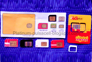 Kartu GSM-CDMA, Kartu SIM HP, Kartu perdana