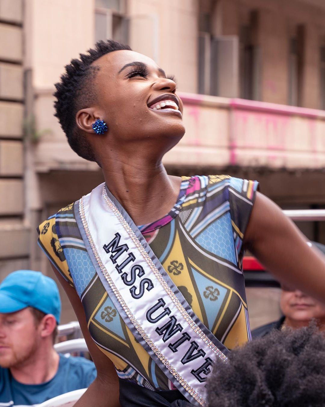 OOK: Miss Universe Zozibini Tunzi to parade through Cape Town on 'Wave of Love'