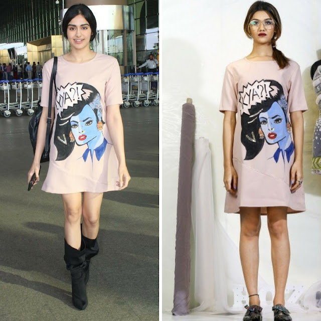 Adah Sharma at the Airport