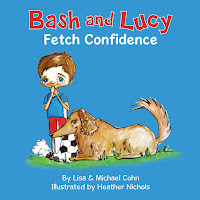 Bash and Lucy Fetch Confidence by Lisa and Michael Cohn