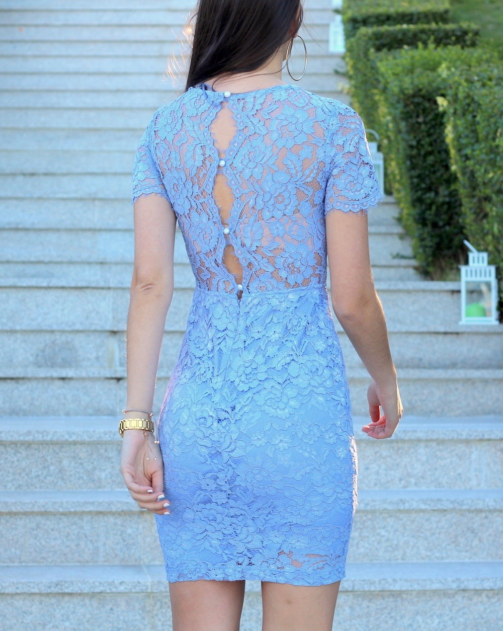 blue lace dress jane norman