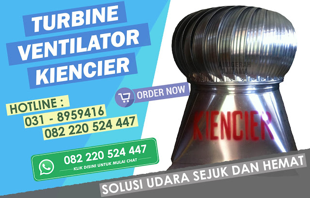 Jual Turbin Ventilator Kiencier