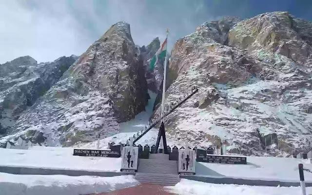 Siachen Glacier : Hell of snow