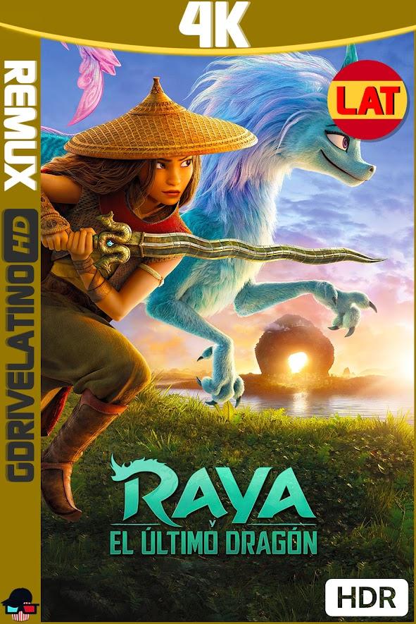 Raya y el Ultimo Dragón (2021) BDRemux 4K HDR Latino-Ingles MKV
