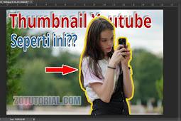 Keren Membuat Garis Mengelilingi Foto di Photoshop Untuk Thumbnail Youtube