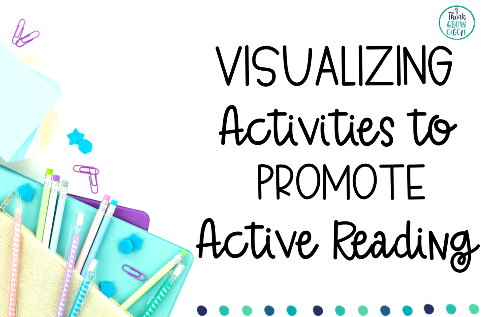 Visualizing Reading Strategy Lesson Ideas and Activities
