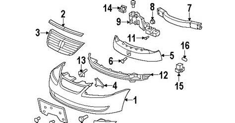Wiring Diagram Blog: 2006 Saturn Ion Parts Diagram