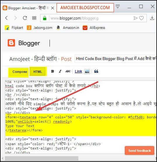 how-to-add-code-box-in-blogspot-blog-post