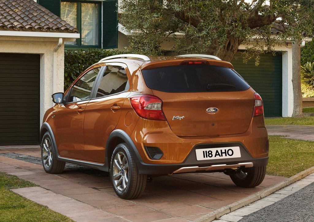 Ford Ka Plus Active Rear View
