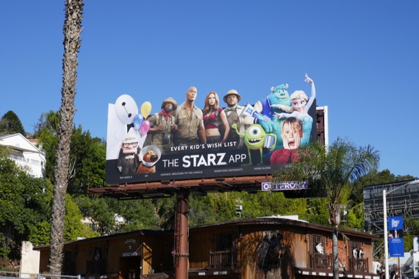 Starz App billboard