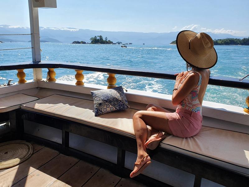 Paraty passeio de barco